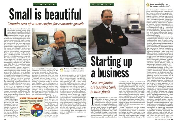 Article Preview: Starting up a business, June 1994 | Maclean's