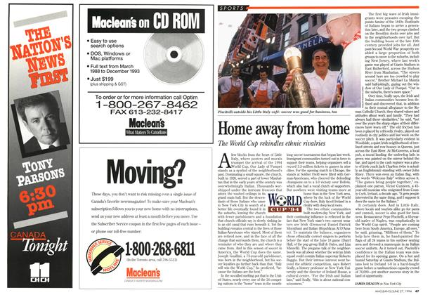 Article Preview: Home away from home, June 1994 | Maclean's