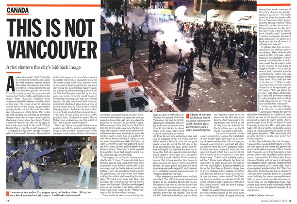 Article Preview: THIS IS NOT VANCOUVER, June 1994 | Maclean's