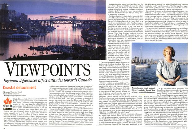 Article Preview: VIEWPOINTS, July 1994 | Maclean's