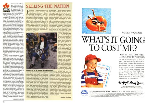 Article Preview: SELLING THE NATION, July 1994 | Maclean's