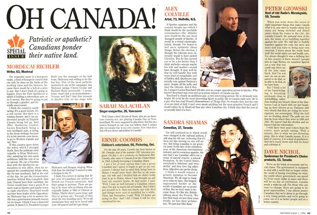 Article Preview: OH CANADA!, July 1994 | Maclean's