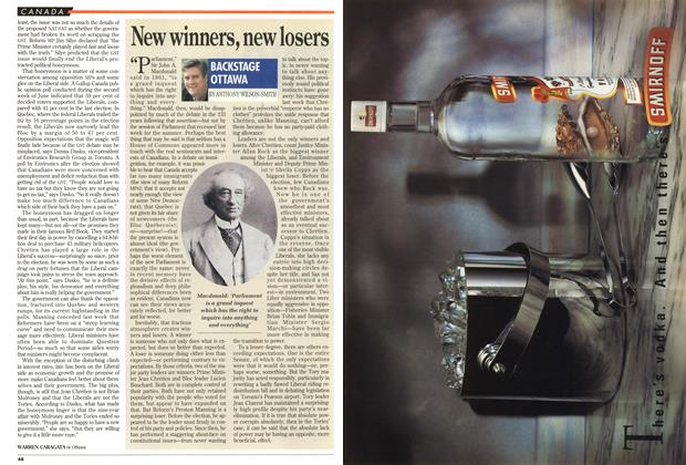 Article Preview: New winners, new losers, July 1994 | Maclean's