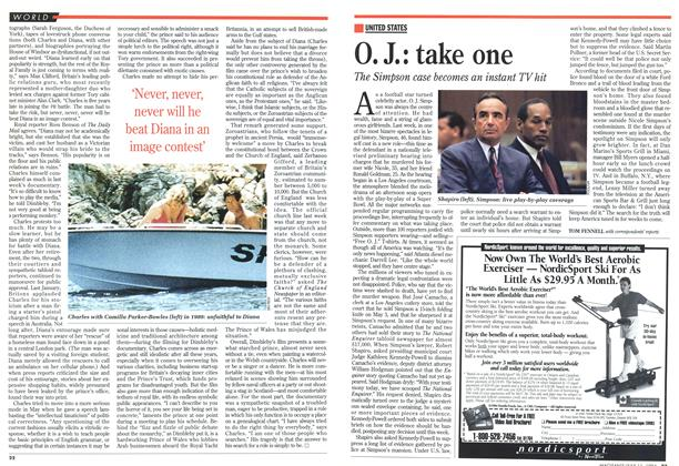 Article Preview: O. J.: take one, July 1994 | Maclean's