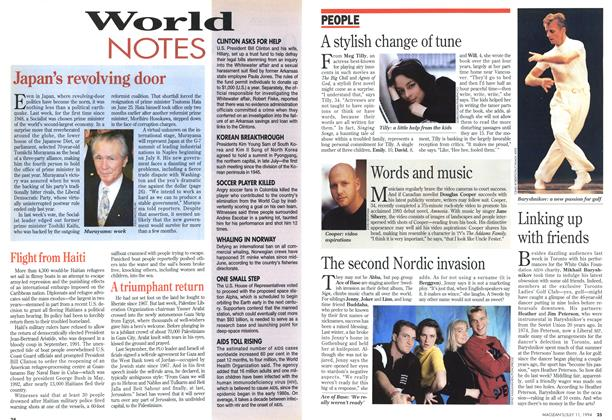 Article Preview: World NOTES, July 1994 | Maclean's