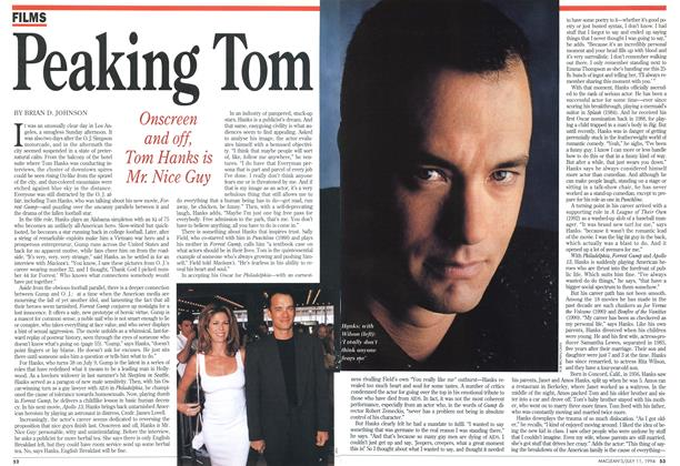Article Preview: Peaking Tom, July 1994 | Maclean's