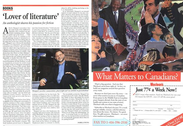 Article Preview: 'Lover of literature', July 1994 | Maclean's