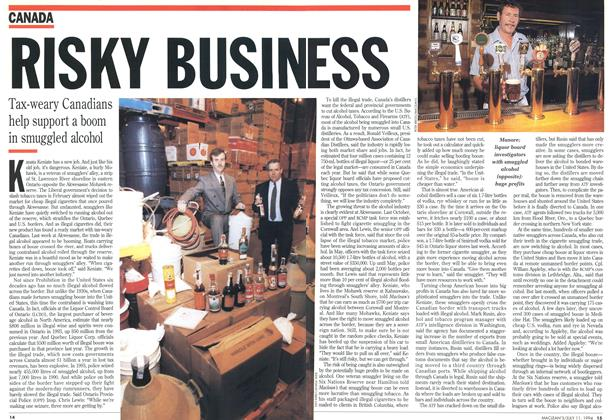 Article Preview: RISKY BUSINESS, July 1994 | Maclean's