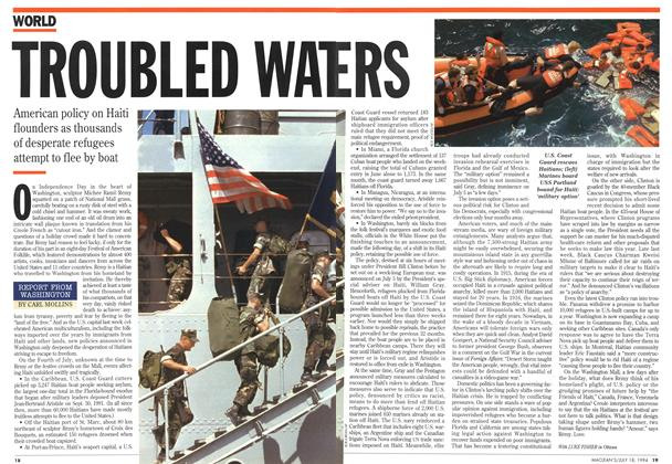 Article Preview: TROUBLED WATERS, July 1994 | Maclean's