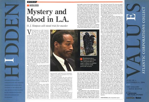 Article Preview: Mystery and blood in L.A., July 1994 | Maclean's
