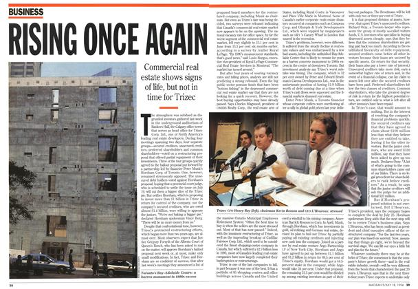 Article Preview: RISING ONCE AGAIN, July 1994 | Maclean's