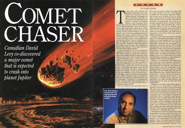 Article Preview: COMET CHASER, July 1994 | Maclean's
