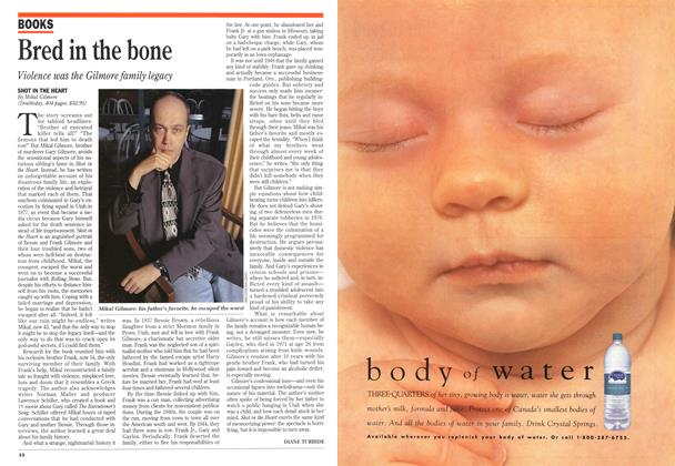 Article Preview: Bred in the bone, July 1994 | Maclean's