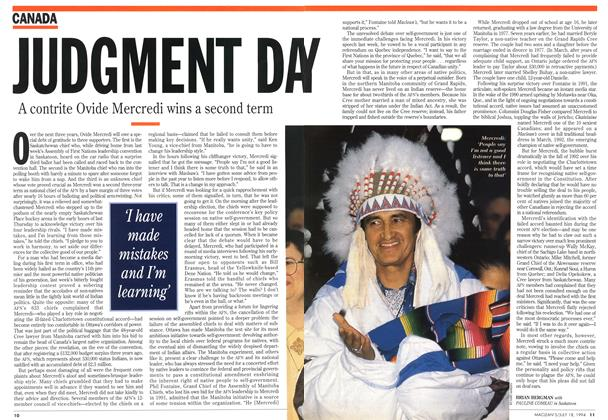 Article Preview: JUDGMENT DAY, July 1994 | Maclean's
