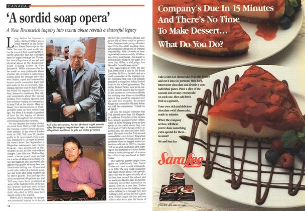 Article Preview: 'A sordid soap opera', July 1994 | Maclean's