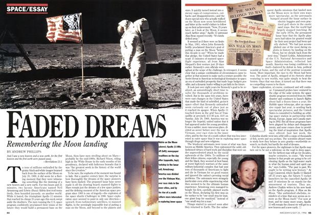 Article Preview: FADED DREAMS, July 1994 | Maclean's