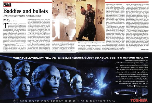 Article Preview: Baddies and bullets, July 1994 | Maclean's