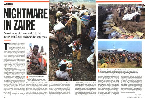 Article Preview: NIGHTMARE IN ZAIRE, August 1994   Maclean's