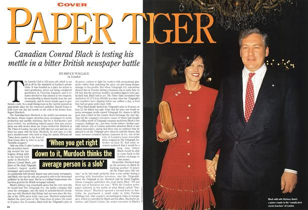 Article Preview: PAPER TIGER, August 1994 | Maclean's