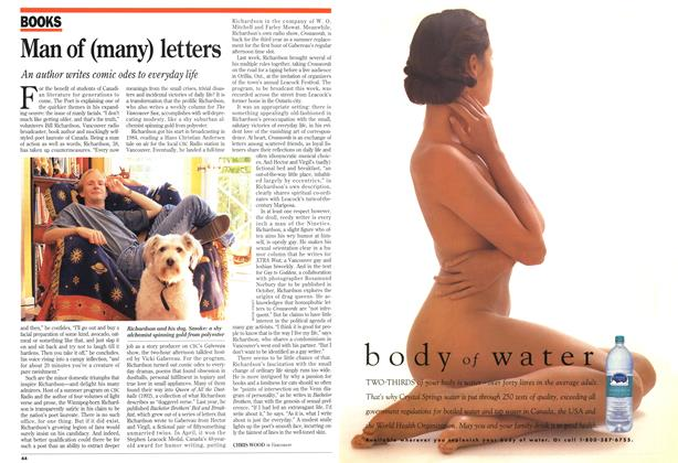 Article Preview: Man of (many) letters, August 1994 | Maclean's