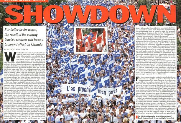 Article Preview: SHOW DOWN, August 1994 | Maclean's