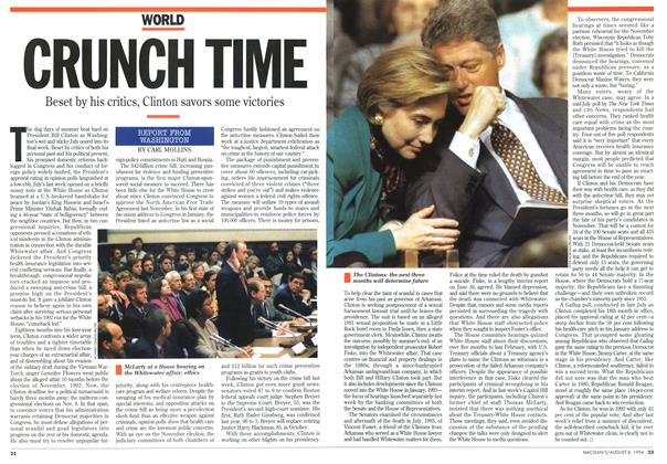 Article Preview: CRUNCH TIME, August 1994 | Maclean's