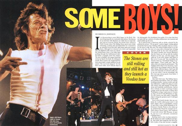 Article Preview: SOME BOYS!, August 1994 | Maclean's