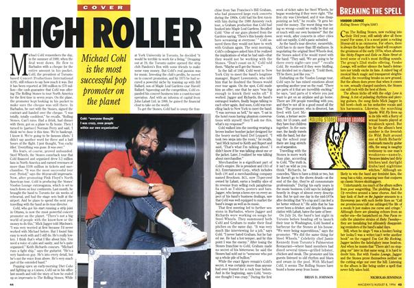 Article Preview: HIGH ROLLER, August 1994 | Maclean's