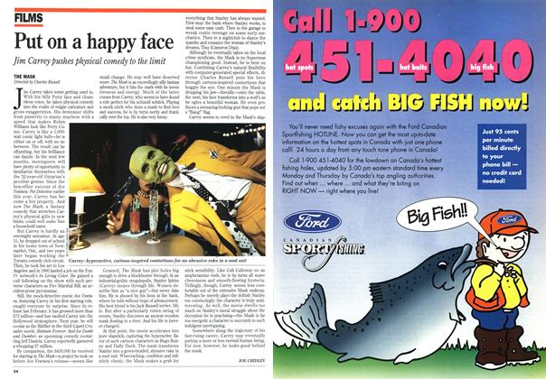 Article Preview: Put on a happy face, August 1994 | Maclean's
