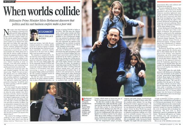Article Preview: When worlds collide, August 1994 | Maclean's
