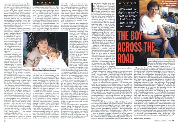 Article Preview: THE BOY ACROSS THE ROAD, August 1994 | Maclean's