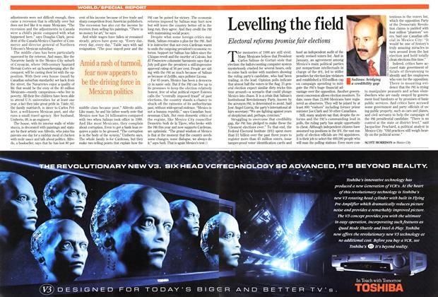 Article Preview: Levelling the field, August 1994 | Maclean's
