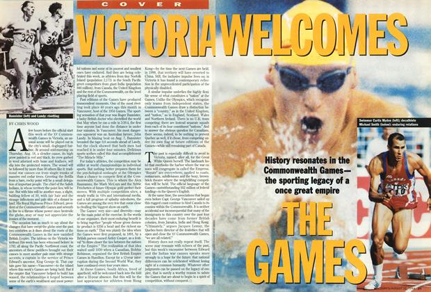 Article Preview: VICTIRIA WELCOMES, August 1994   Maclean's