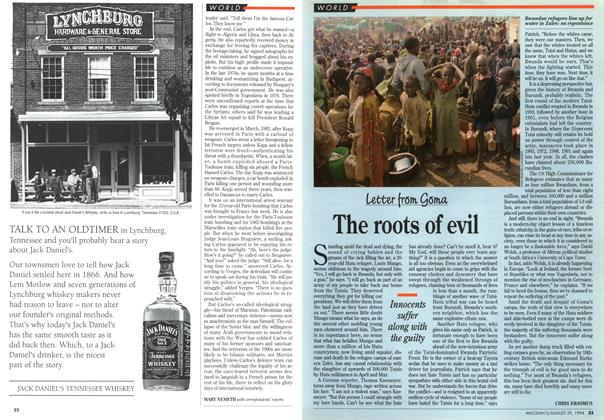 Article Preview: The roots of evil, August 1994 | Maclean's