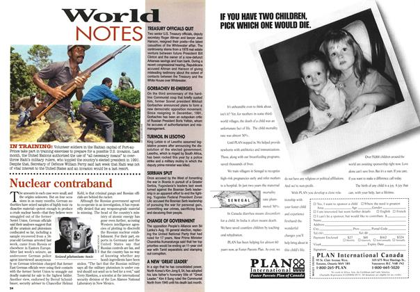 Article Preview: World NOTES, August 1994 | Maclean's