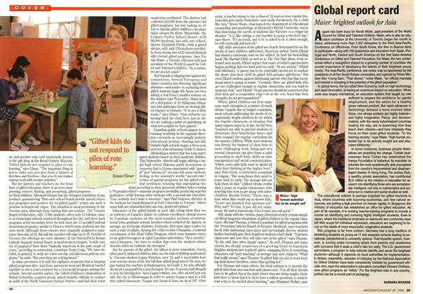 Article Preview: Global report card, August 1994 | Maclean's