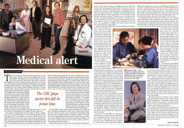 Article Preview: Medical alert, August 1994 | Maclean's