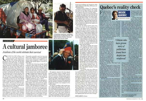 Article Preview: A cultural jamboree, August 1994 | Maclean's