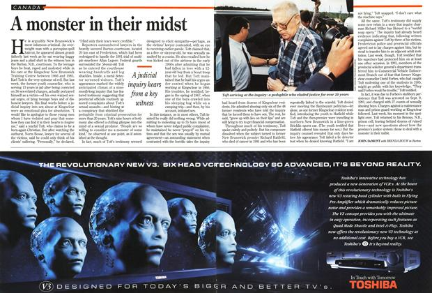 Article Preview: A monster in their midst, September 1994 | Maclean's