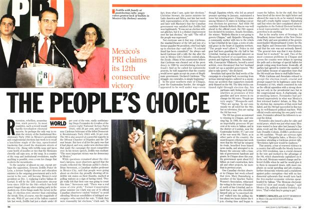 Article Preview: THE PEOPLE'S CHOICE, September 1994 | Maclean's