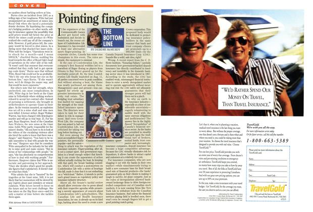 Article Preview: Pointing fingers, September 1994 | Maclean's