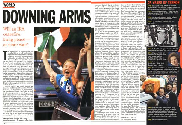 Article Preview: DOWNING ARMS, September 1994 | Maclean's