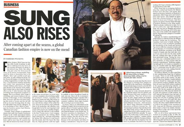 Article Preview: SUNG ALSO RIES, September 1994 | Maclean's