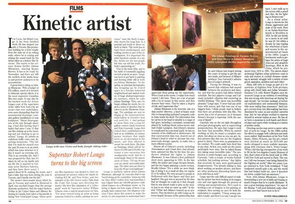 Article Preview: Kinetic artist, September 1994 | Maclean's