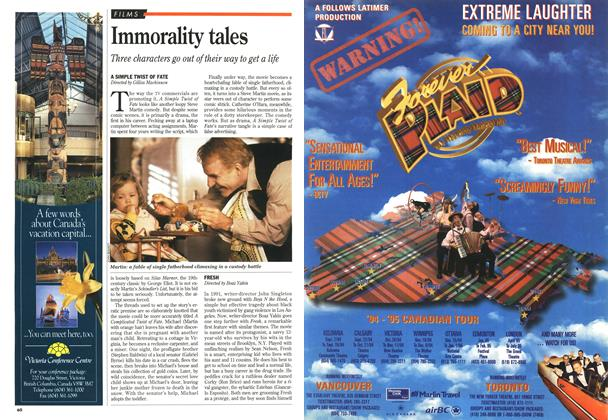 Article Preview: Immorality tales, September 1994 | Maclean's