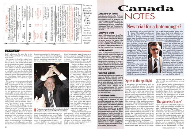 Article Preview: 'The game isn't over', September 1994 | Maclean's