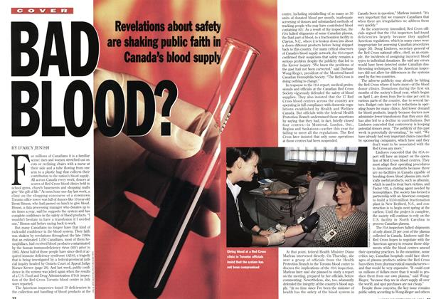Article Preview: BAD BLOOD?, September 1994 | Maclean's
