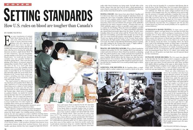 Article Preview: SETTING STANDARDS, September 1994 | Maclean's