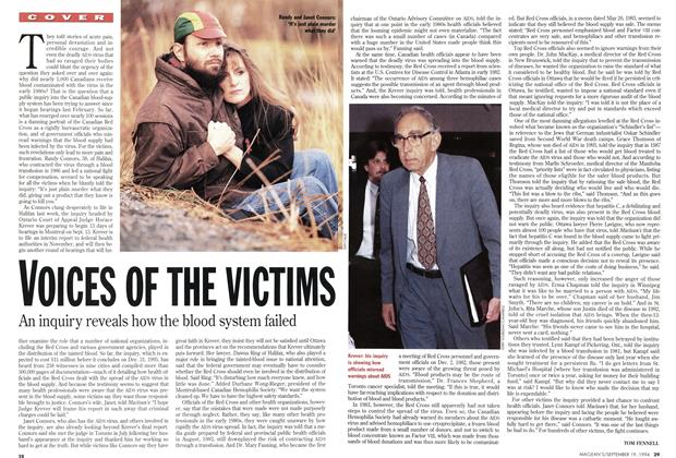 Article Preview: VOICES OF THE VICTIMS, September 1994 | Maclean's