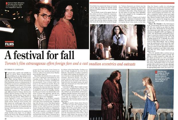 Article Preview: A festival for fall, September 1994 | Maclean's